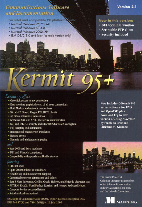 Kermit 95 Pricing and Licensing Options